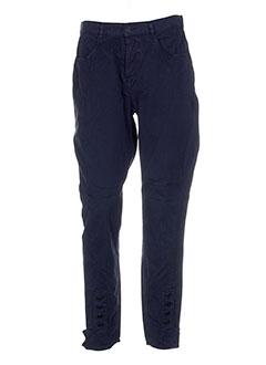 bensimon pantalons et decontractes femme de couleur bleu