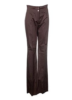 diana et gallesi pantalons et decontractes femme de couleur marron