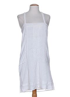 shyde tuniques femme de couleur blanc