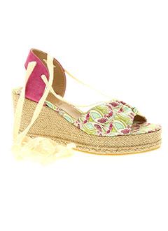 pare et gabia sandales et nu et pieds femme de couleur rose