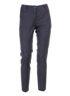 seventy et by et sergio et tegon pantalons et citadins femme de couleur gris