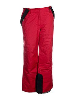 lafuma pantalons et decontractes homme de couleur rouge