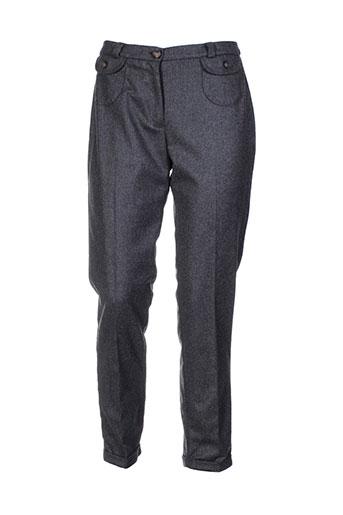 crossways pantalons femme de couleur gris