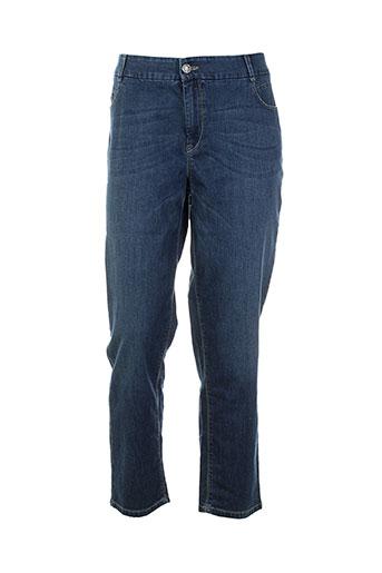 atelier gardeur jeans femme de couleur bleu