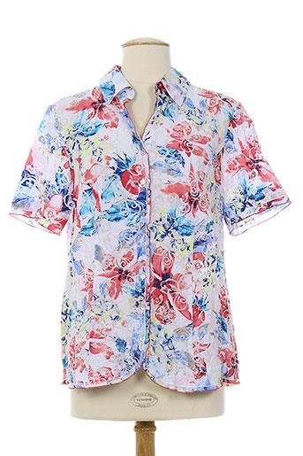 my way chemises femme de couleur bleu