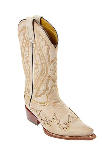 oaxaka bottes femme de couleur beige