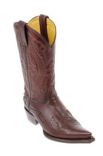 oaxaka bottes femme de couleur marron