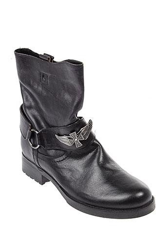 venezia bottines femme de couleur noir