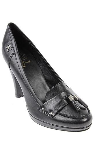 karston escarpins femme de couleur noir