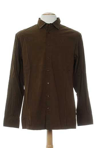 freesoul chemises homme de couleur marron