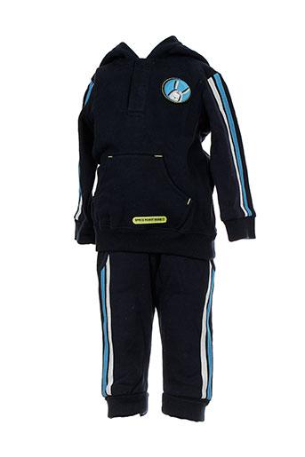 orchestra t et shirt et pantalon enfant de couleur bleu