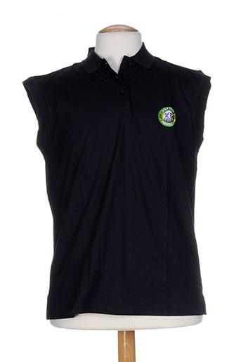 glenmuir t-shirts homme de couleur noir