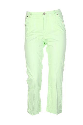 dismero pantacourts femme de couleur vert