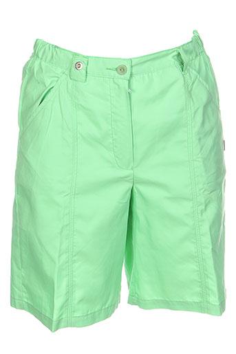 belfe shorts / bermudas homme de couleur vert