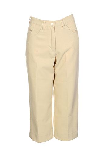 chervo sport pantacourts femme de couleur beige