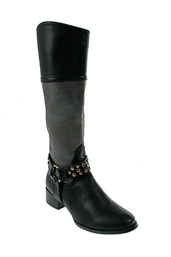 sergio et todzi bottes femme de couleur noir