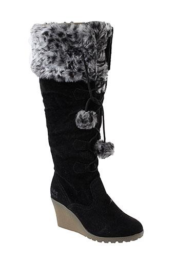 molly et bracken bottes femme de couleur noir