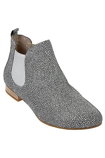 axell boots femme de couleur gris