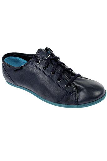 palladium baskets femme de couleur bleu