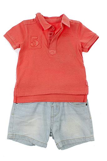 mayoral t et shirts et shorts garcon de couleur bleu