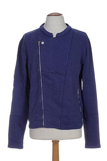 american et vintage vestes homme de couleur bleu