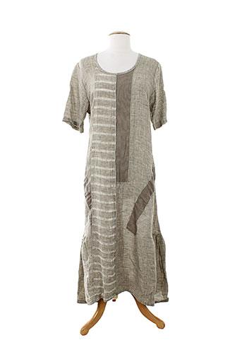marilu robes femme de couleur beige