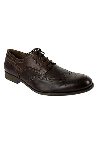 private et pilote derby homme de couleur marron