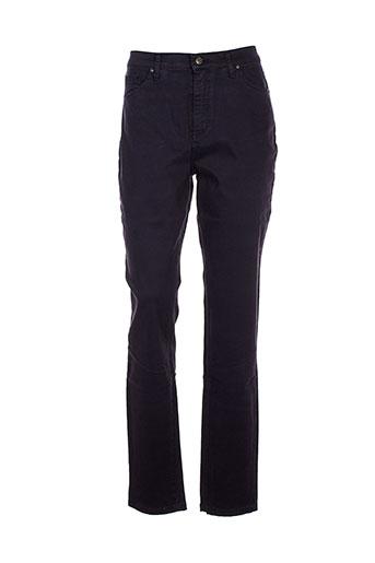 lcdn pantalons femme de couleur violet