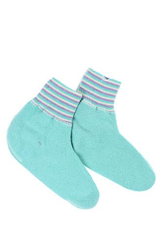 medima chaussons femme de couleur vert