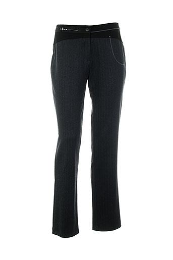 kalisson pantalons femme de couleur gris