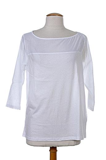 majestic chemises femme de couleur blanc