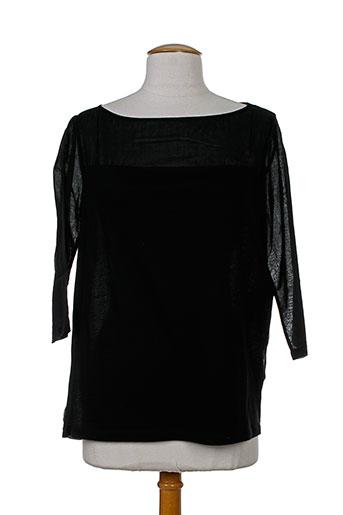 majestic t et shirts et tops femme de couleur noir