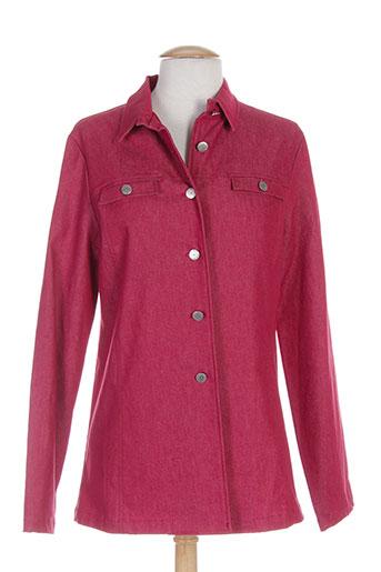 francois favel vestes femme de couleur rouge