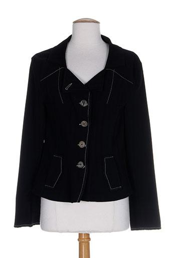 liliane h vestes femme de couleur noir