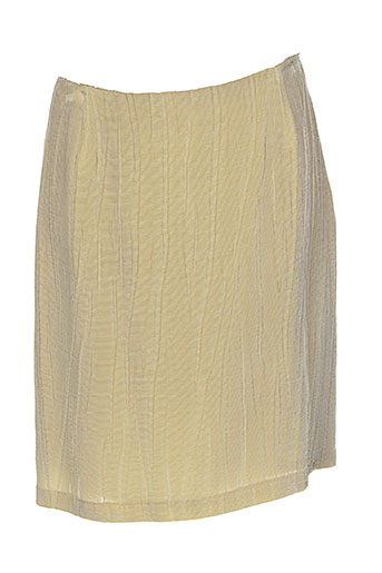 helena sorel jupes femme de couleur beige