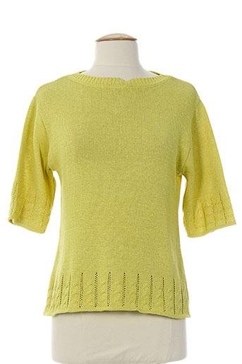 prunelle pulls femme de couleur vert