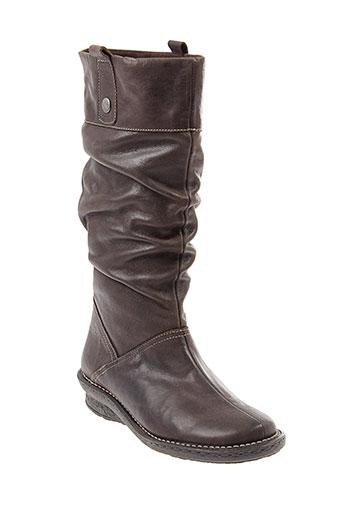 chacal bottes femme de couleur marron