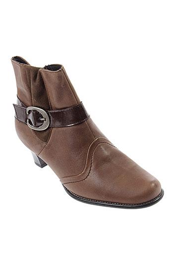 artika et soft boots femme de couleur marron