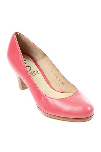 gadea escarpins femme de couleur rose