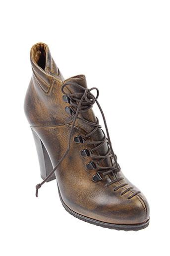 janet et janet boots femme de couleur marron