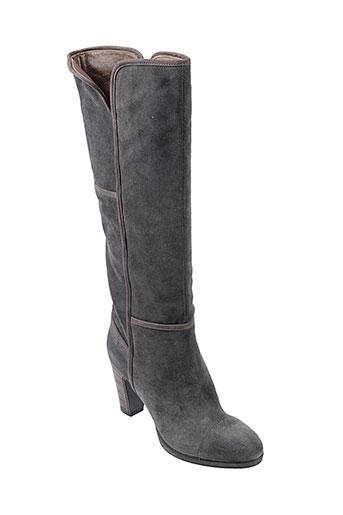 janet et sport bottes femme de couleur gris