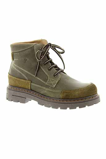 romagnoli boots garcon de couleur vert