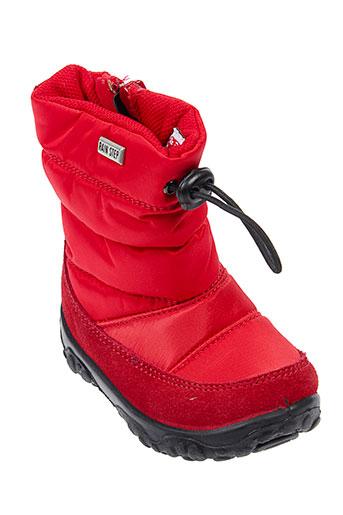 falcotto chaussures enfant de couleur rouge