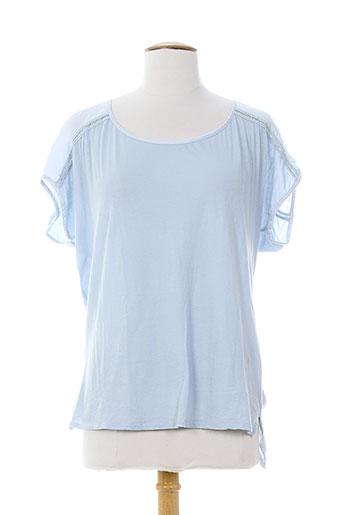 kosmika chemises femme de couleur bleu