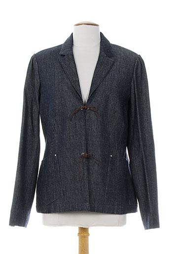 atika vestes femme de couleur bleu