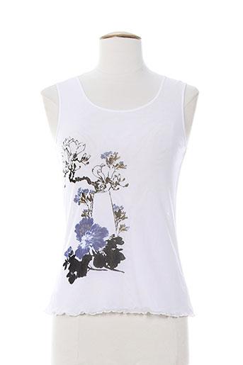 atika chemises femme de couleur blanc