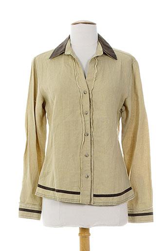 health vestes femme de couleur beige