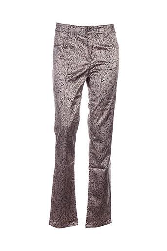 glüen pantalons femme de couleur gris