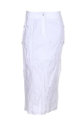 atika jupes femme de couleur blanc