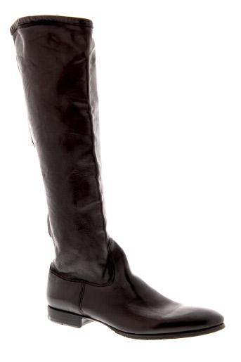paul et smith bottes femme de couleur marron